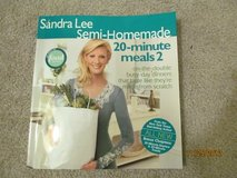 Sandra Lee 20 minute meals #2 Cookbook in Fort Benning, Georgia
