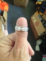 mans white gold band in Eglin AFB, Florida